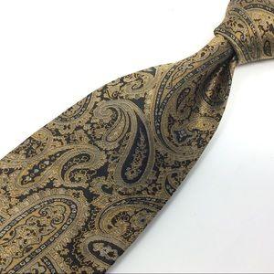 Stacy Adams Men's Silk Paisley Neck Tie - T214